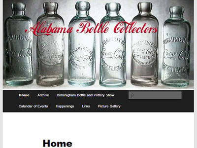 Alabama Bottle Collectors