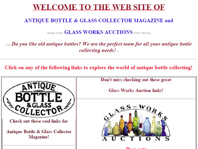 Antique Bottle & Glass Collector Magazine