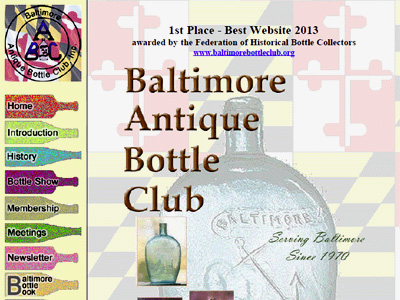 Baltimore Antique Bottle Club