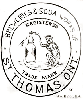 Breweries & Soda Works of St. Thomas 1833-1933