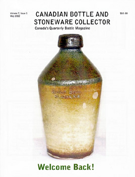 Canadian Bottle and Stoneware Collector