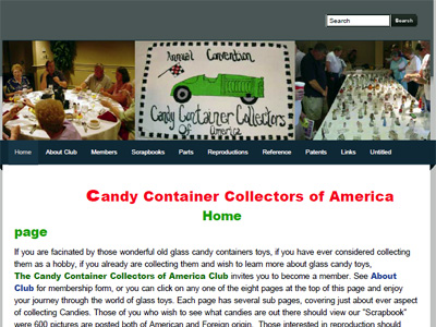 Candy Container Collectors of America