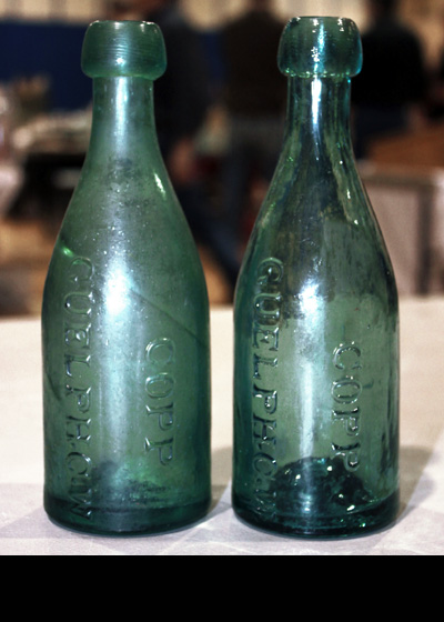 Copp's reunite after 150+ years at the Toronto Bottle Show