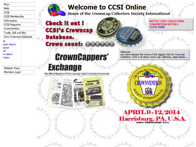 Crowncap Collectors Society International