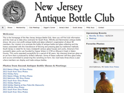 New Jersey Antique Bottle Club