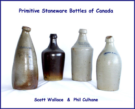 Primitive Stoneware Bottles of Canada