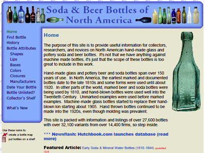 Soda and Beer Bottles of North America