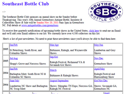 Southeast Bottle Club