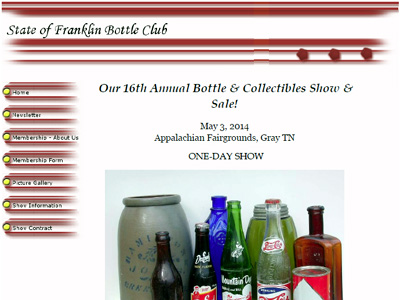 State Of Franklin Antique Bottle & Collectibles Association