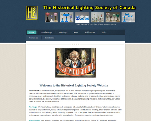 The Historical Lighting Society of Canada