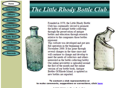 The Little Rhody Bottle Club