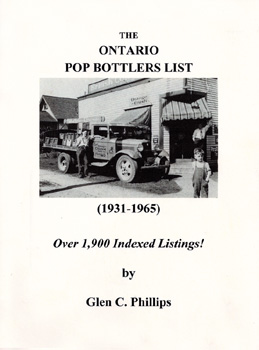 The Ontario Pop Bottlers List (1931 - 1965)