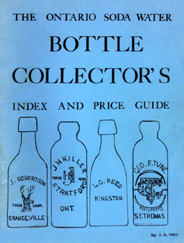 The Ontario Soda Water Bottle Collector's Index and Price Guide